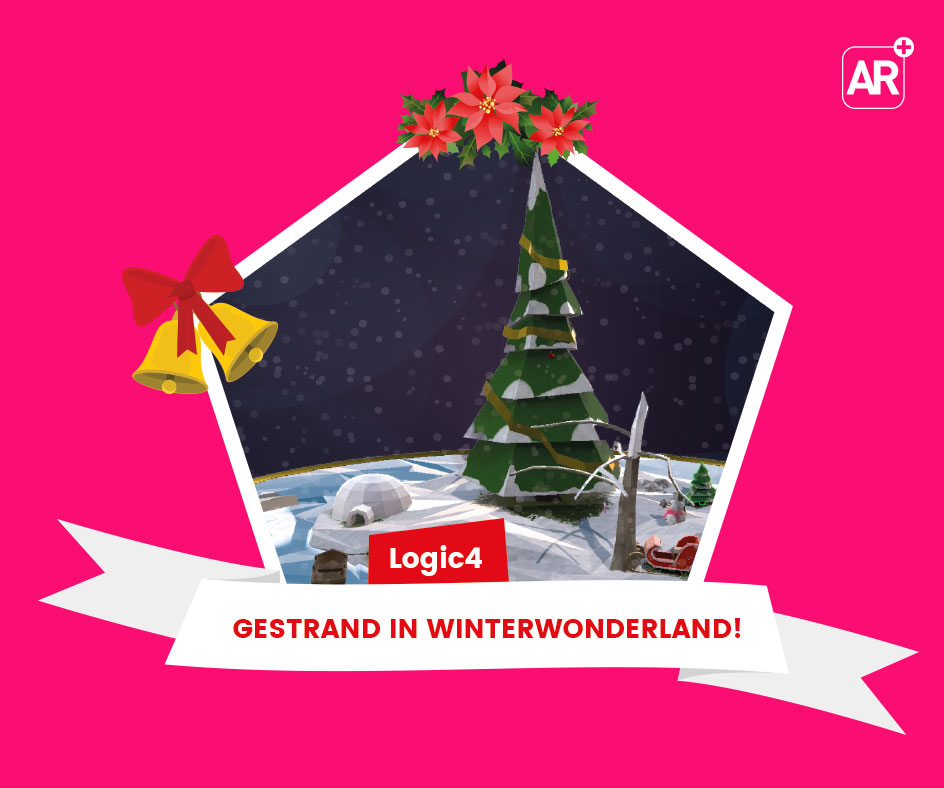 Ontdek de kerstwens van Logic4 in Augmented Reality
