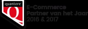 Quantore E-Commerce Partner van het Jaar 2016 & 2017