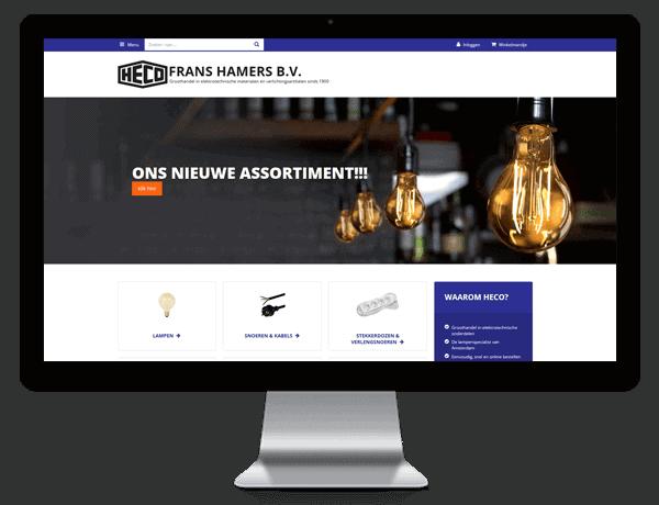 Webshop Heco Frans Hamers
