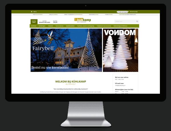 Webshop Kühlkamp buitenhout