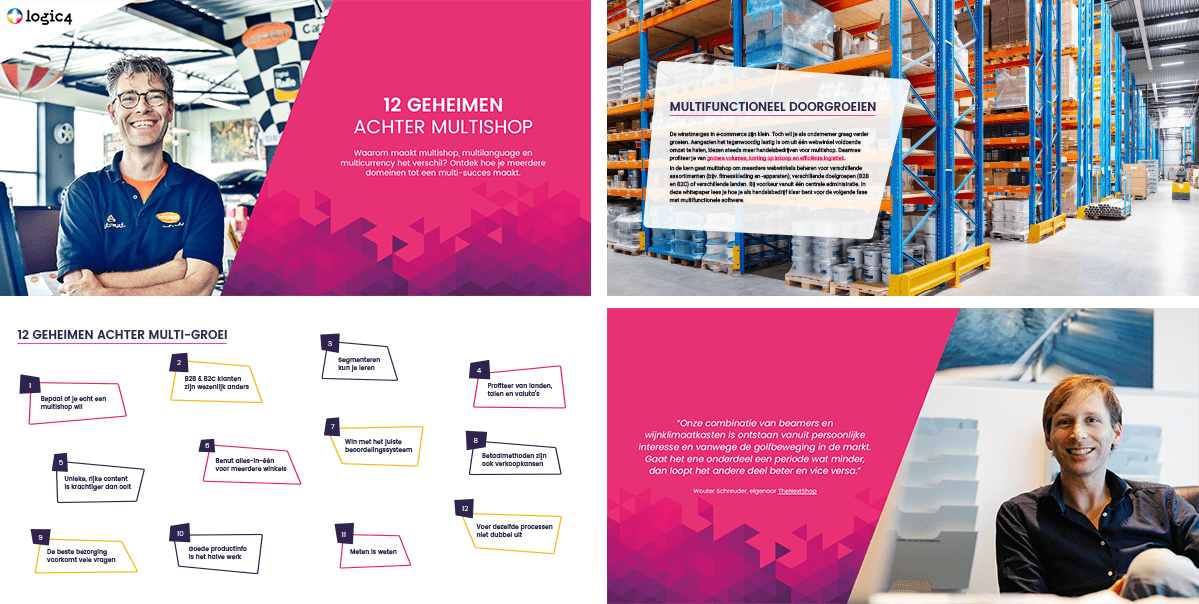 Preview van de whitepaper Multishop