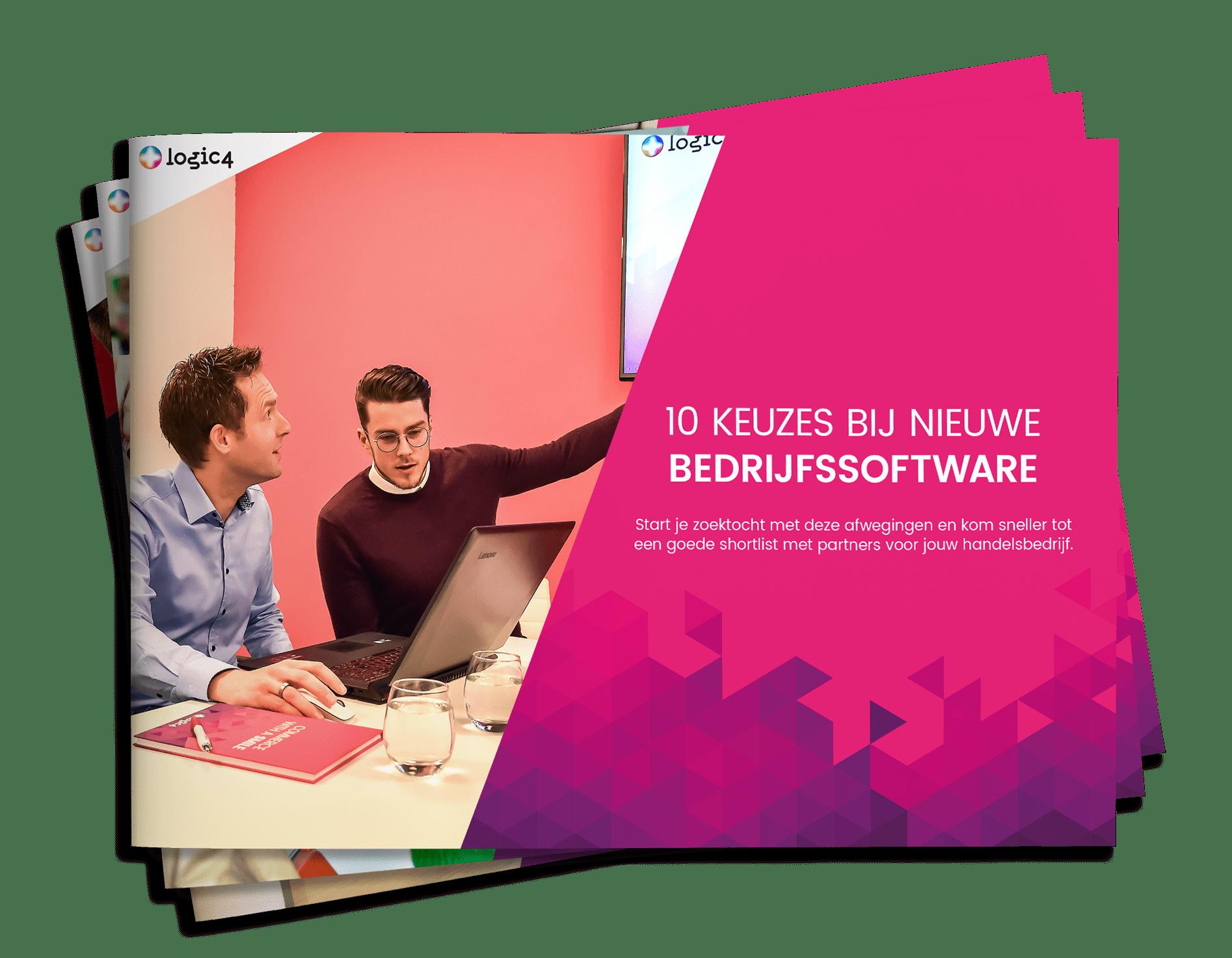 Whitepaper 10 keuzes bij nieuwe bedrijfssoftware cover